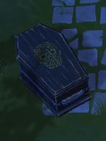 La Catrina coffin
