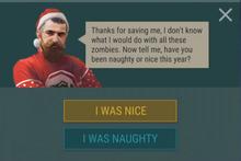 Nick Santy Nice or Naughty