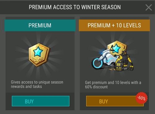Season 5 Premium access