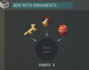 Box with Ornaments