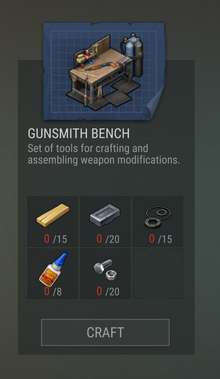 Blueprints 38 Gunsmith Bench