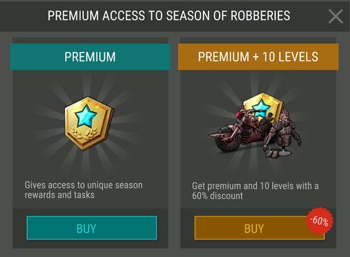 Season 7 Premium access