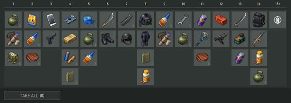 Camp. Sector 7 rewards