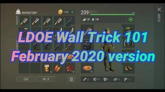 Last Day on Earth- Wall Trick 101