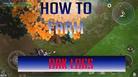 How to farm Oak logs without Chopper Last Day On Earth Survival