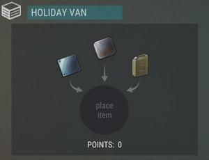 Holiday Van station