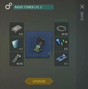Radio Tower Lvl 3