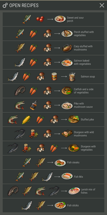 Kitchen stove recipes
