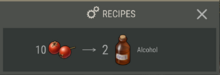 Medical Table recipes