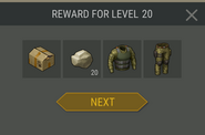 Survival Guide reward 20