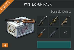 Winter fun pack offer