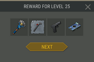 Survival Guide reward 25