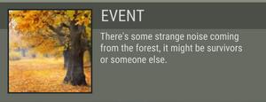 Oak Clearing event