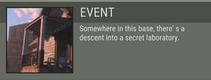 Temporary Base event