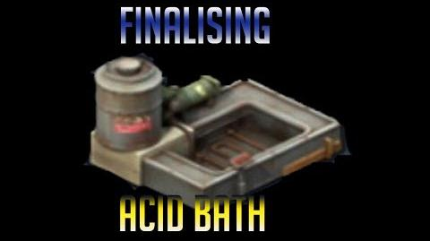 Acid Bath Compeleted