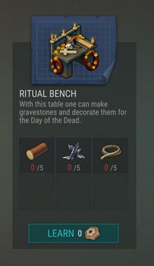 Ritual Bench