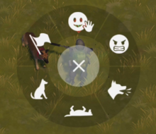 True Friend emotes