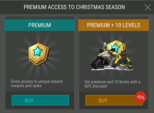 Season 4 Premium access