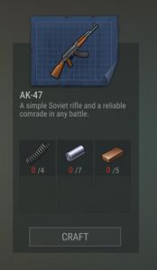 Blueprints AK-47 old