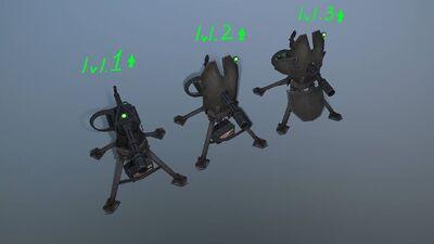 Turret levels
