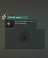 Workstation Witch's Head