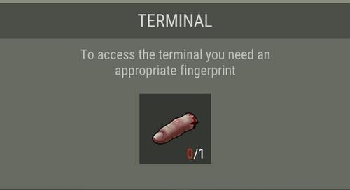Cut Finger terminal