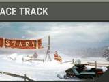 Snowy Race Track