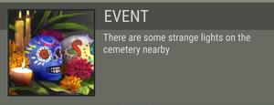 Catrina's Cemetery event