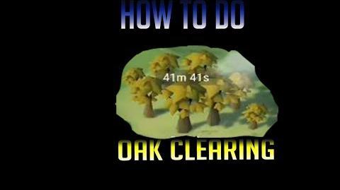 How to do oak event