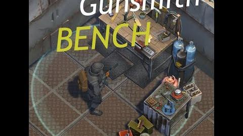 Finalising Gunsmith Bench
