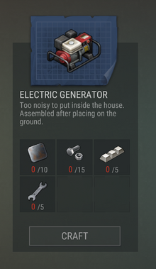 Blueprints 59 Electric Generator