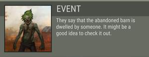 Greg's Barn event