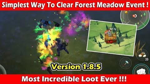 "Simple Way To Clear ""Forest Meadow"" Event (1.8.5)! Last Day On Earth Survival"