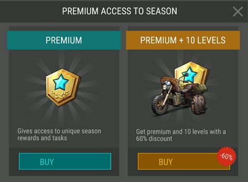Season 9 Premium access