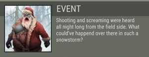 Snow Field event