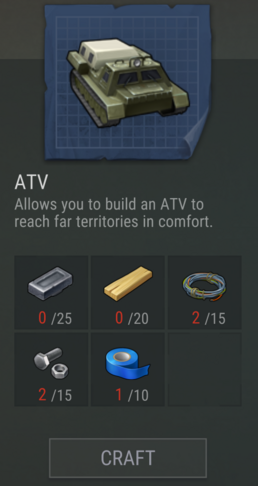 ATVRecipe