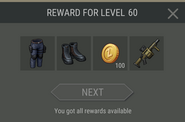 Survival Guide reward 60