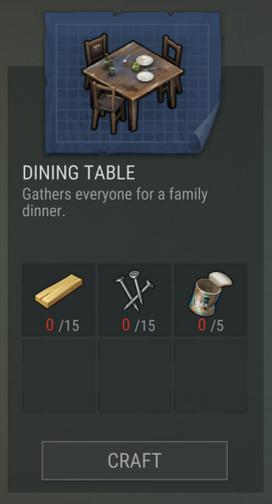 Diningtable