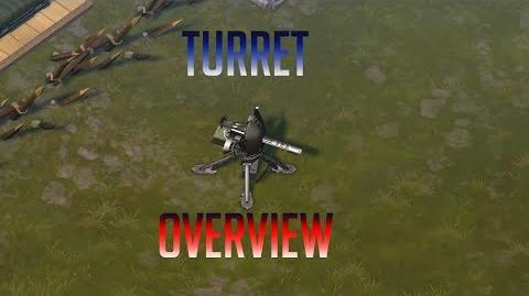 Turret Overview Crafting Building turret