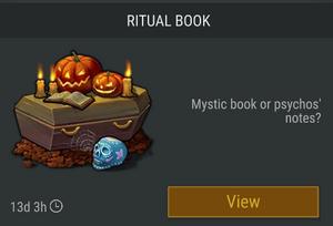 Ritual Book offer