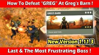 "How To Defeat 3rd Boss ""GREG"" At Greg's Barn (1.11.3) ! Last Day On Earth Survival"