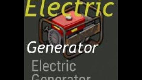 Finallizing electric generator