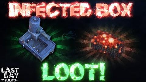 HOW TO GET INFECTED BOX! INFECTED BOX LOOT! - Last Day On Earth- Survival