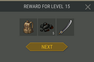 Survival Guide reward 15
