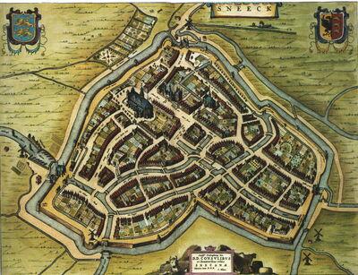 Blaeu 1652 - Sneek