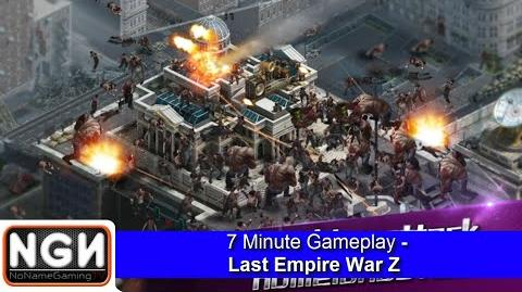 7 Minute Gameplay - Last Empire War Z (Mobile Game)