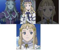 Millia throughout the series