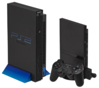 PlayStation 2 with PlayStation 2 Slim