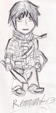 Rush Chibi Sketch