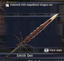 Draconile Claymore